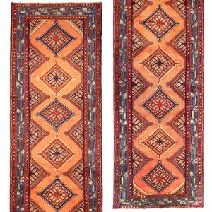 Hand-Knotted Chenar Hamedan Rug