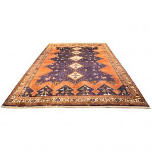 Hand-Knotted Sirjaan Rug