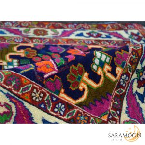 Tiny Unique Hand-knotted Rug