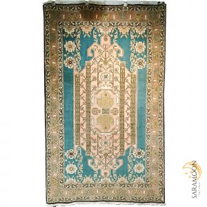 Hand-Knotted Ardebil Rug