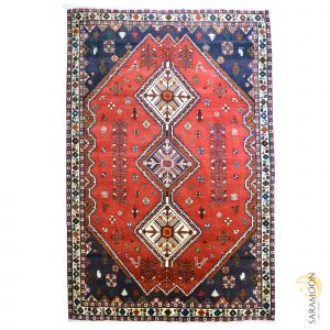 Hand-knotted Shiraz Tribal Rug
