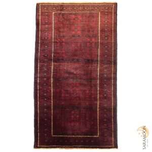 Hand-knotted Balooch Area Rug