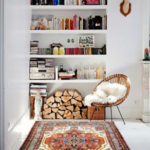 Hand-knotted Toyserkan Rug