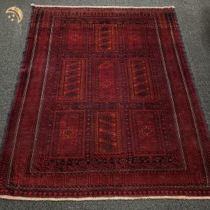 Hand-knotted Small Antique Balooch Rug
