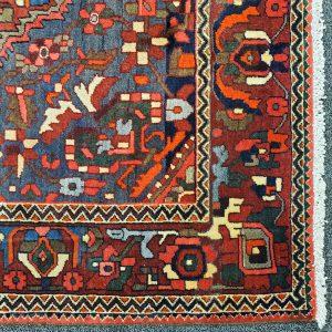 Hand-knotted Unique Bakhtiari Rug